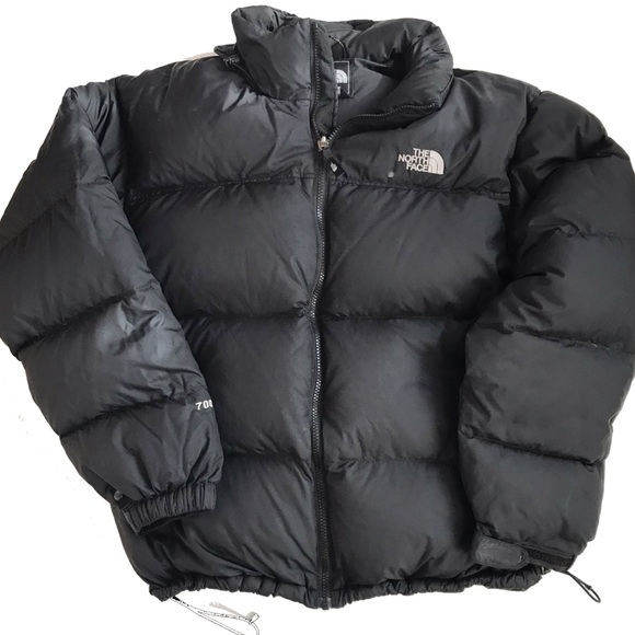 6b46f71c7 North Face Puffer Jacket 700 Goose Down Black L